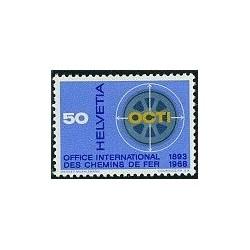 1 عدد تمبر هفته دفتر بین المللی - OCTI - سوئیس 1967