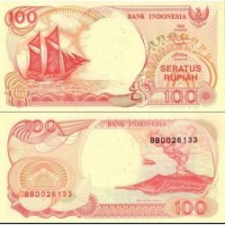 اسکناس 100 روپیه - اندونزی 1992 تک
