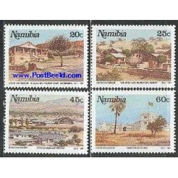 4 عدد تمبر توریسم - نامیبیا 1991