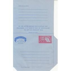 پاکت نامه هوائی 6 پنس  - آئروگرام ملکه الیزابت - انگلستان
