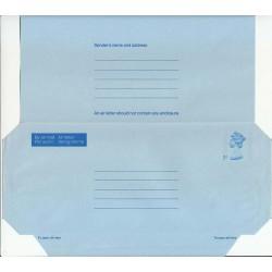 پاکت نامه هوائی 7 پنس  - آئروگرام ملکه الیزابت - انگلستان