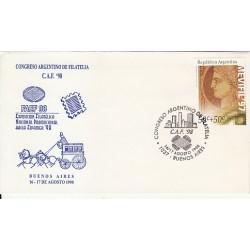 پاکت مهر روز - Mevifil - آرژانتین 1997