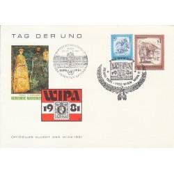 پاکت مهر روز - WAIPA  - اتریش 1981