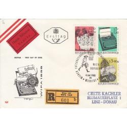 پاکت مهر روز - نمایشگاه تمبر WAIPA  - اتریش 1965