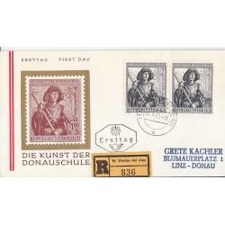 پاکت مهر روز - Donauschule   - اتریش 1965