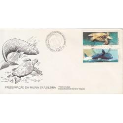 پاکت مهر روز - حفاظت از طبیعت - برزیل 1987