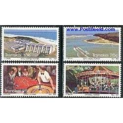 4 عدد تمبر توریسم - آفریقای جنوبی - ترنسکی 1983