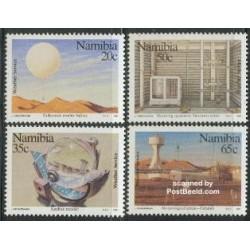 4 عدد تمبر هواشناسی - نامیبیا 1991