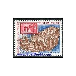 1 عدد تمبر سال جهانی جمعیت - نیجر 1974