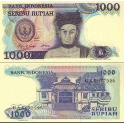 اسکناس 1000 روپیه - اندونزی 1987