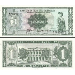 اسکناس پلیمر 2000 گوارانی - پاراگوئه 1963