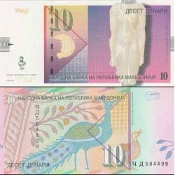 اسکناس 10 دینار - مقدونیه 2011