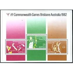 سونیرشیت رقابتهای ورزشی کشورهای مشترک المنافع - بریزبون - استرالیا 1982