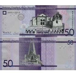 اسکناس 50 پزو - جمهوری دومنیکن 2014