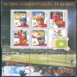 سونیرشیت بیس بال - کوبا 2002