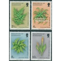 4 عدد تمبر گلها و گیاهان - گورنزی 1975
