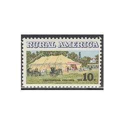 1 عدد تمبر آمریکَای روستائی - آمریکا 1974