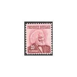 1 عدد تمبر فردریک داگلاس - روزنامه نگار ، دیپلمات و نویسنده - آمریکا 1967