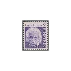 1 عدد تمبر آلبرت اینشتین - آمریکا 1966