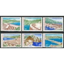 6 عدد تمبر سدها - رومانی 1978
