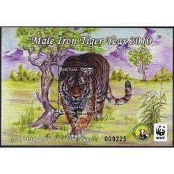 سونیرشیت سال ببر - WWF - بوتان 2010