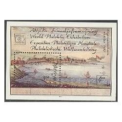سونیرشیت نمایشگاه تمبر هافنیا - جزایر فارو 1987