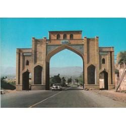 کارت پستال دهه 50 - شیراز - دروازه قرآن