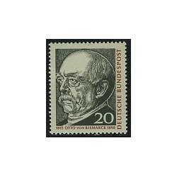 1 عدد تمبر اتو فون بیسمارک - جمهوری فدرال آلمان 1965