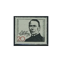 1 عدد تمبر کولپینگ - کشیش کاتولیک - جمهوری فدرال آلمان 1965