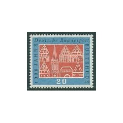 1 عدد تمبر Buxtehude - شهری در شمال آلمان- جمهوری فدرال آلمان 1959