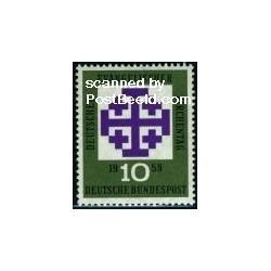 1 عدد تمبر روز بشارت - جمهوری فدرال آلمان 1959