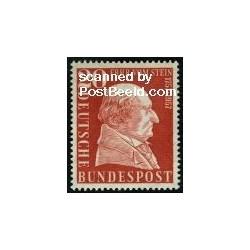 1 عدد تمبر بارون ووم اشتین - جمهوری فدرال آلمان 1957
