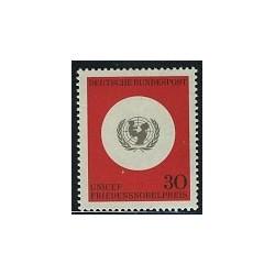 1 عدد تمبر یونیسف - جمهوری فدرال آلمان 1966