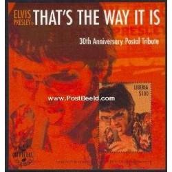 سونیرشیت سی امین سالگرد فوت الویس پریسلی - لیبریا 2000