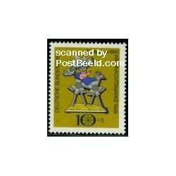 1 عدد تمبر کریستمس - جمهوری فدرال آلمان 1969
