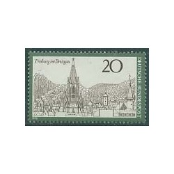 1 عدد تمبر فرایبورگ - جمهوری فدرال آلمان 1970