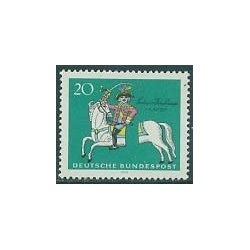 1 عدد تمبر بارون فون مونچوزن - جمهوری فدرال آلمان 1970