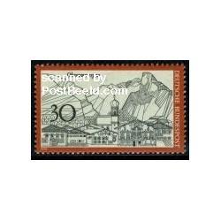 1 عدد تمبر شهر اوبرامرگو - جمهوری فدرال آلمان 1970