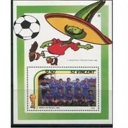 سونیرشیت جام جهانی فوتبال - سنت وینسنت 1986