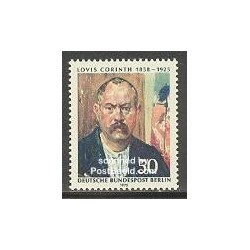1 عدد تمبر لوئیز کورنیس - نقاش - برلین آلمان 1975