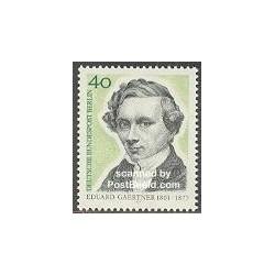 1 عدد تمبر ادوارد گارتنر - نقاش - برلین آلمان 1977