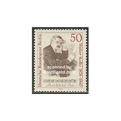 1 عدد تمبر والتر کولو - آهنگساز - برلین آلمان 1978