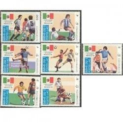 7ع تمبر جام جهانی مکزیکو - لائوس 1985