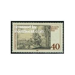 1 عدد تمبر آلبرشت آلتدورفر - نقاش و معمار رنسانس - جمهوری فدرال آلمان 1980