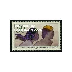 1 عدد تمبر CVJM - جمهوری فدرال آلمان 1982