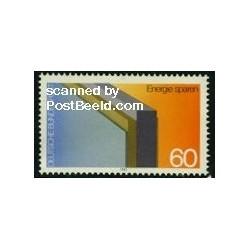 1 عدد تمبر صرفه جویی در انرژی با عایق سازی - جمهوری فدرال آلمان 1982