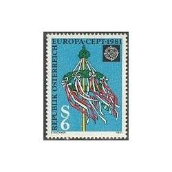 1 عدد تمبر مشترک اروپا - Europa Cept - فورکلور - اتریش 1981