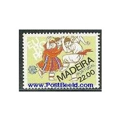 1 عدد تمبر مشترک اروپا - Europa Cept - فورکلور - مادیرا پرتغال 1981