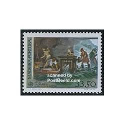 1 عدد تمبر مشترک اروپا - Europa Cept - تاریخ - مادیرا پرتغال 1982