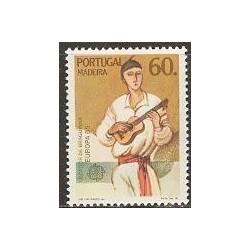 1 عدد تمبر مشترک اروپا - Europa Cept - موسیقی - مادیرا پرتغال 1985
